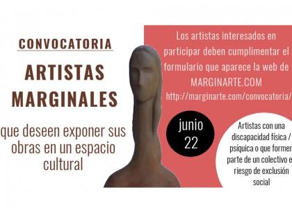 Exposición colectiva artistas marginales